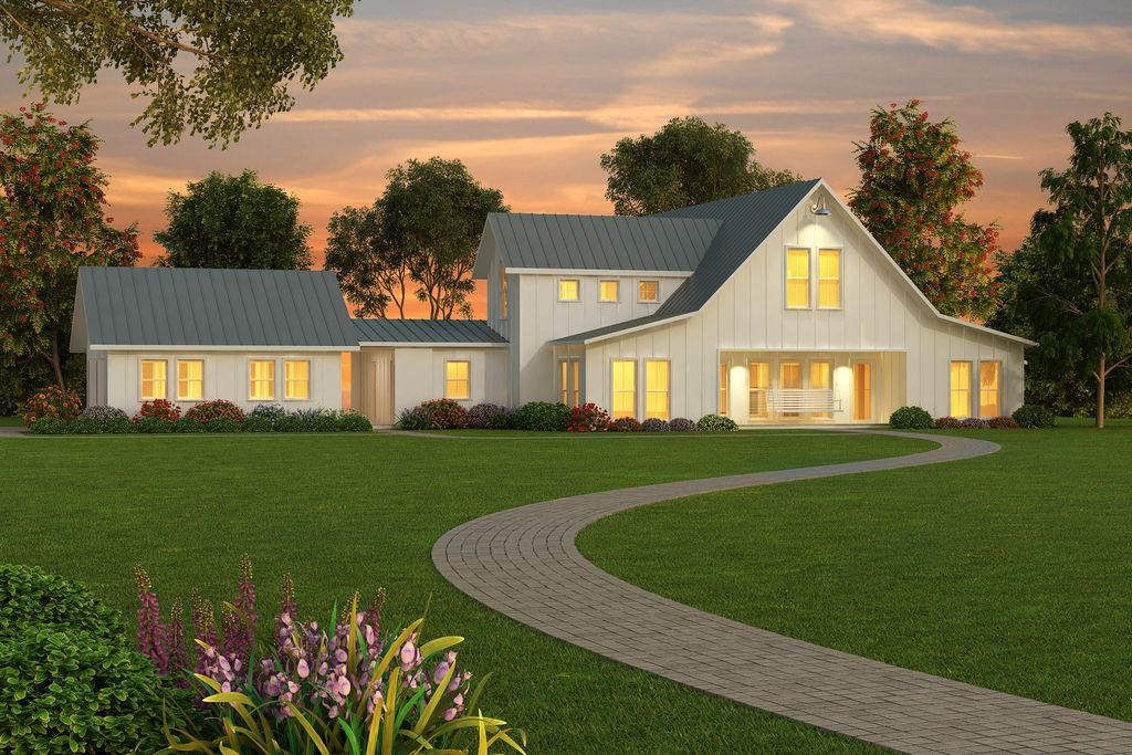 Farmhouse Style House Plan Modern Home Decoration Interior Design
