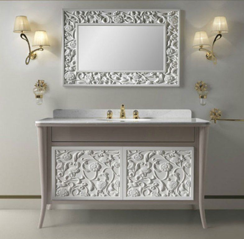 50 Charming Fabulous Bathroom Mirror Designs 2020 Salle De