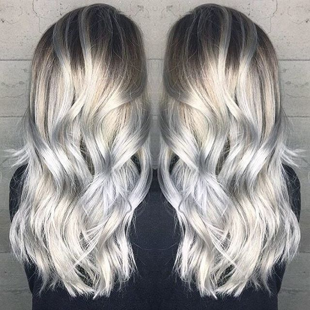 Pale Blonde To Silver Hair Color By Janai Hart A K A