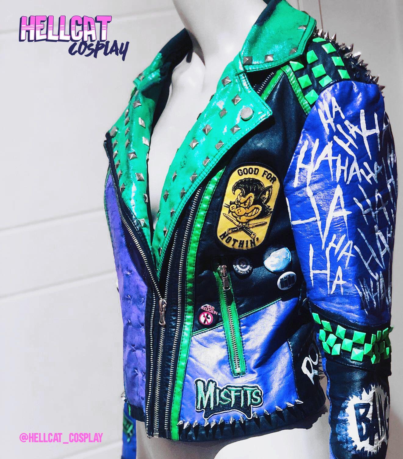 Punk Joker Cosplay Jacket Hellcat Cosplay Joker Cosplay [ 1502 x 1321 Pixel ]