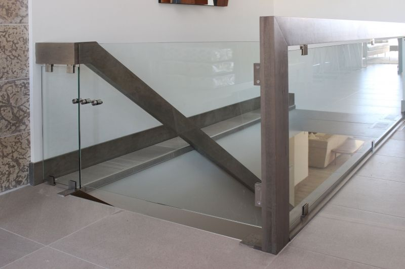 Image Result For Baby Gate For Glass Railing Glass
