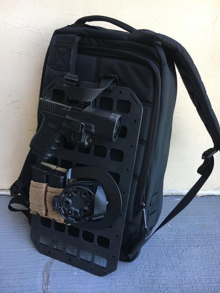 Grey Man Tactical Rigid MOLLE Panel RIP-M Backpack Tactical Insert Covert  Conceal Carry GoRuck GR1 GR2 www.greyman-tactical.com 1ecbe27405bde