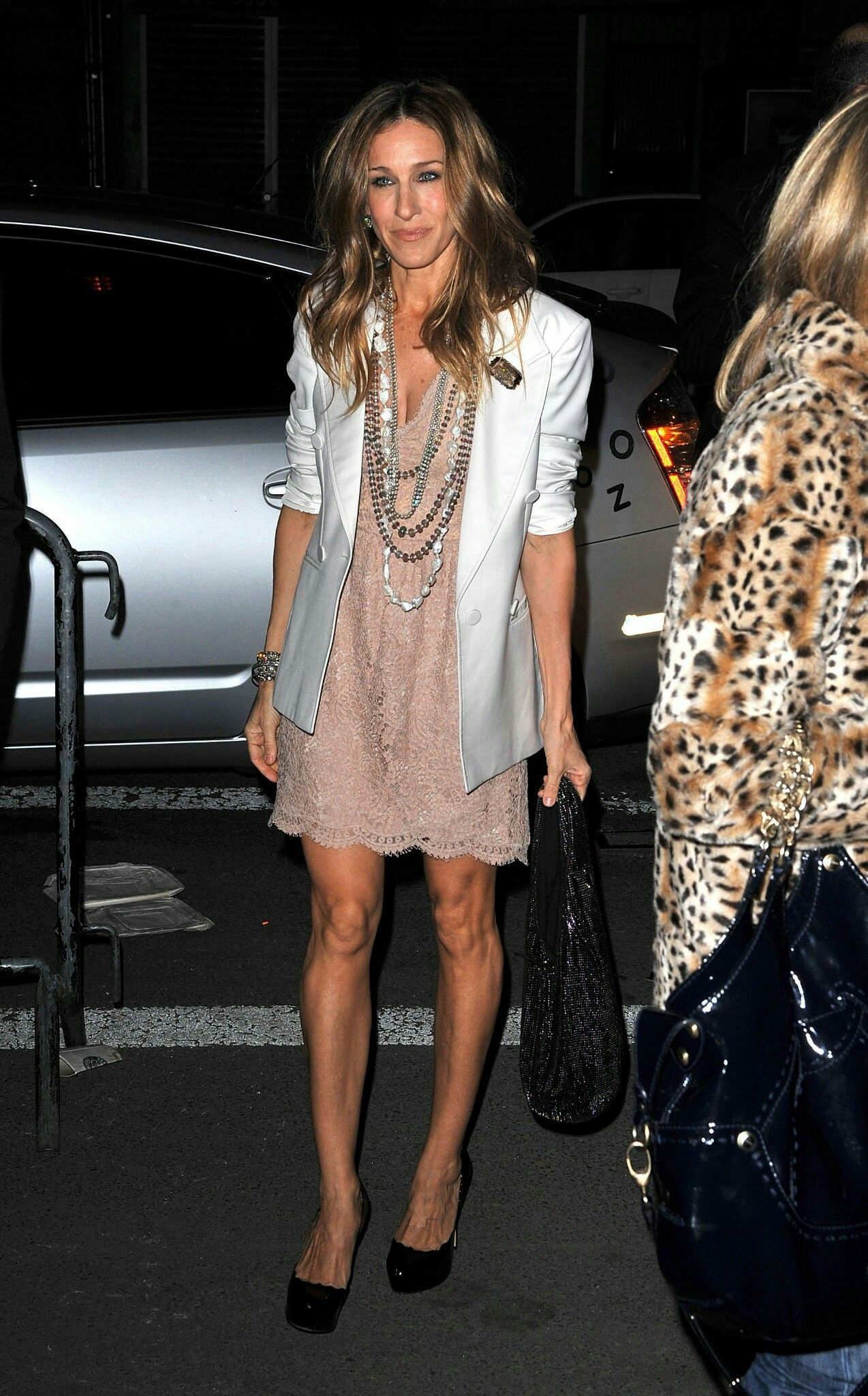 Sjp in stella mccartney graduation wedding and others day parties