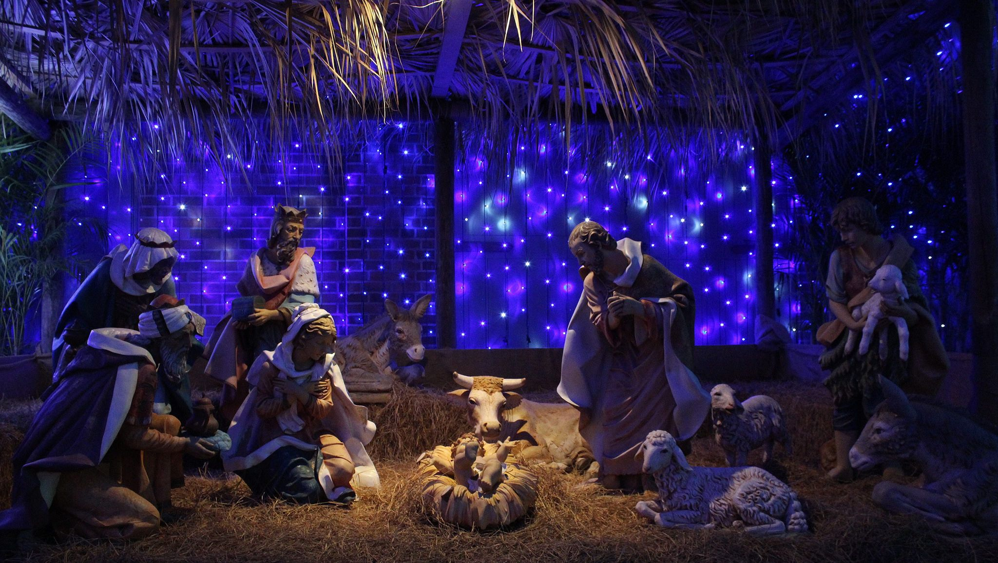 https://flic.kr/p/ATEQ1u | Nativity Scene | One of the christmas displays at The Osborne Family Spectacle of Dancing Lights.at Disney's Hollywood Studios Orlando Florida www.facebook.com/ChadSparkesPhotography/