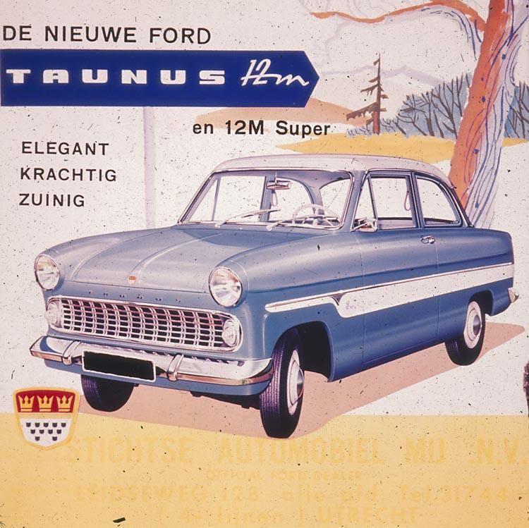 1959 62 Ford Taunus 12m Super Oldtimer Automobil