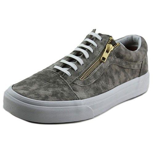 6b8abbfc65 Vans Old Skool Zip Women US 6 Gray Sneakers