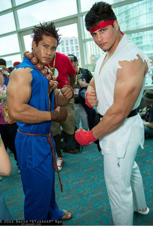 Akuma And Ryu 1 Cosplay Guys Ryu Costume Best Cosplay Cosplay
