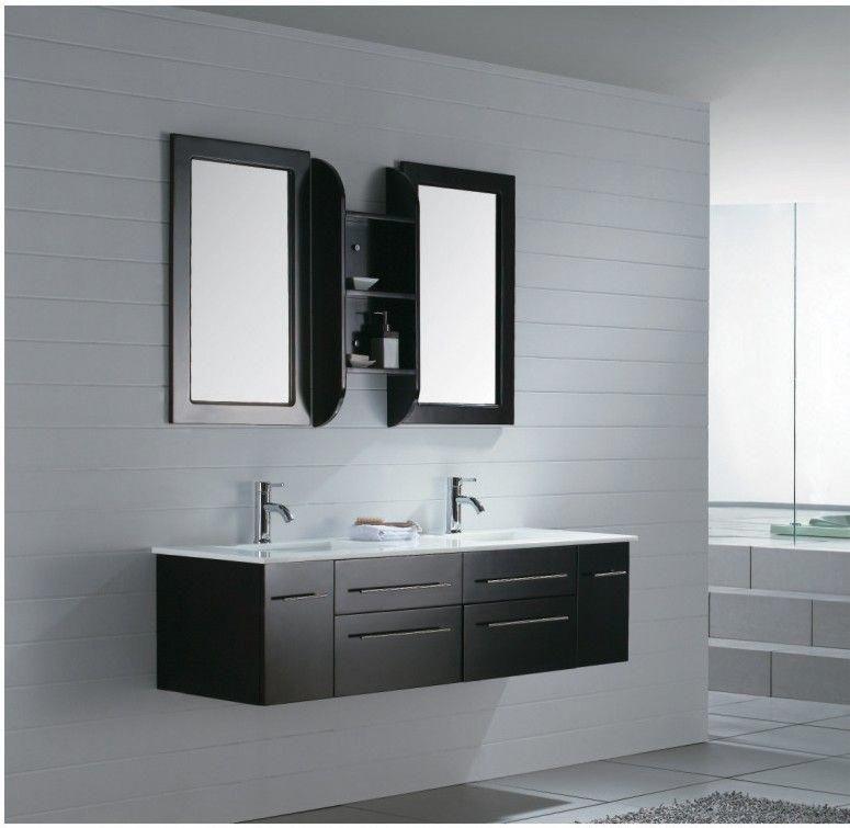 Milano Iv Modern Bathroom Vanity Set 59 Modern Bathroom Design Modern Bathroom Vanity Black Vanity Bathroom Bathroom modern vanity units milano