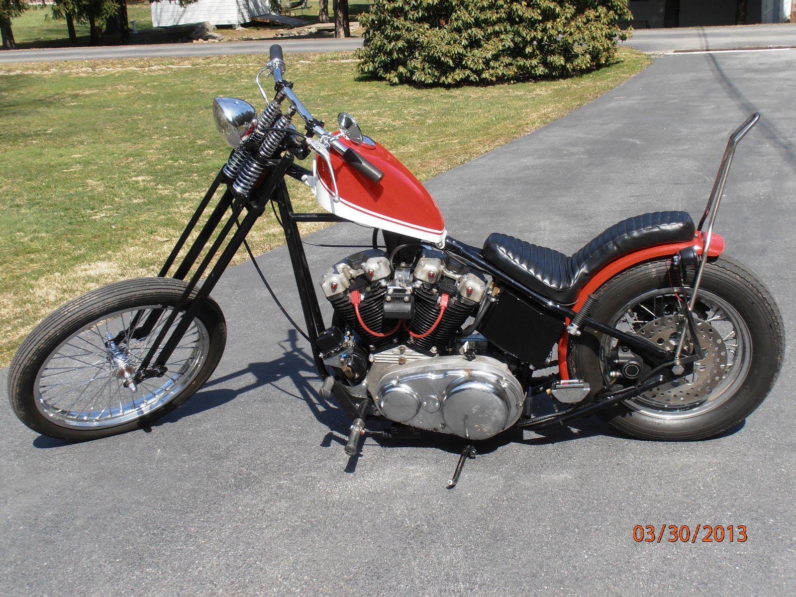 Harley Davidson Sportster Vintage 1962 Hardtail Chopper