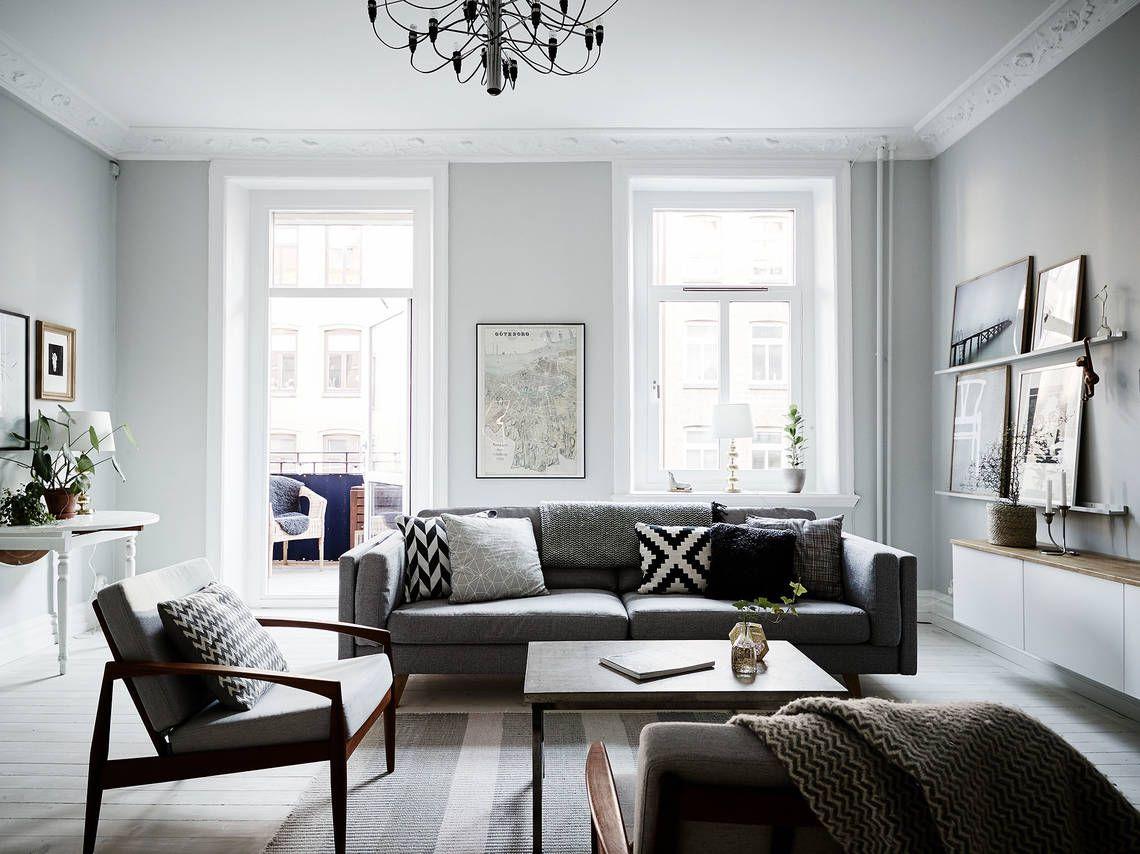 Gezellige Zweedse Woonkamer : Een scandinavisch interieur american style