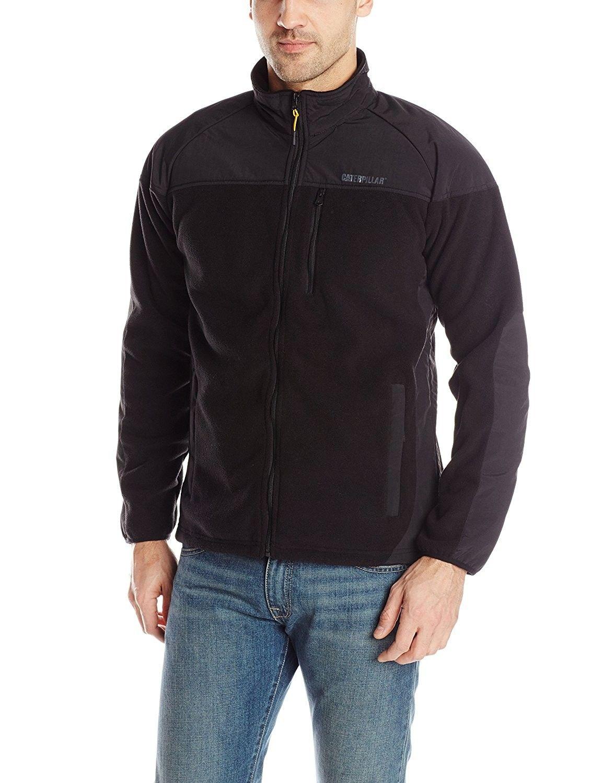 Men's Momentum Fleece Jacket Black CO11OHL0K9L