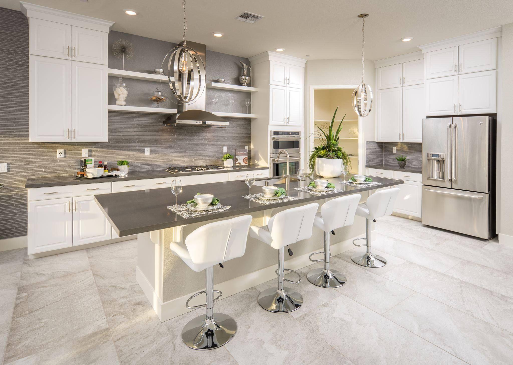 What Is Your Favorite Feature In This Kitchen California Newhomes Kitchen Dreamkitchen Design St Contemporary Kitchen Home Decor Kitchen Kitchen Design