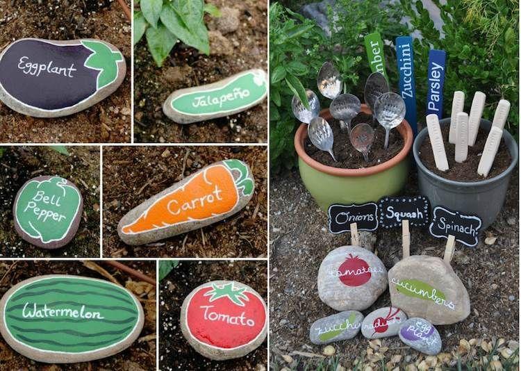 décor de jardin à faire soi-même- 25 idées originales pas chères - Decoration Jardin A Faire Soi Meme