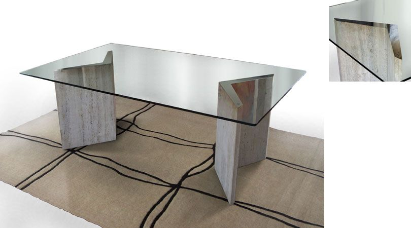 55 Glass Top Dining Tables With Original Bases  Digsdigs  Art Fascinating Bases For Glass Dining Room Tables Design Inspiration