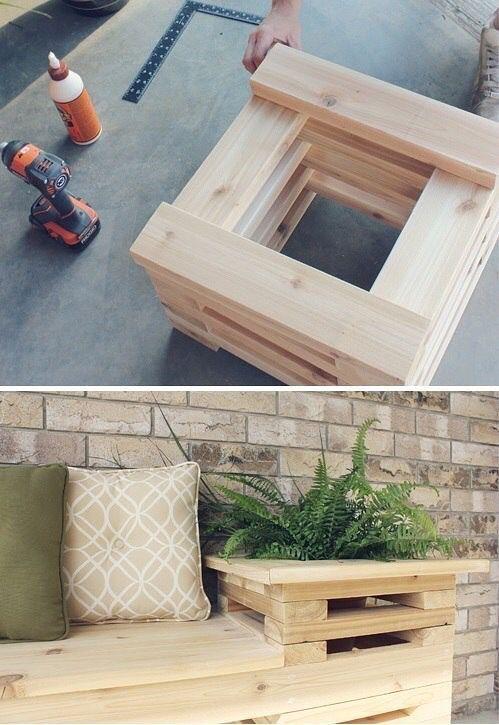 How to built Garden plants idea