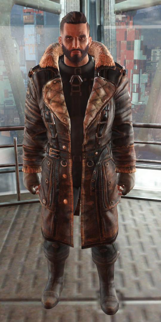 Fallout 4 Elder Maxson Brotherhood Of Steel Battle Coat Post