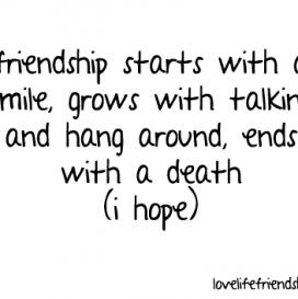 Friendship Quotes Tumblr Pictures Quotes Quotes Friendship