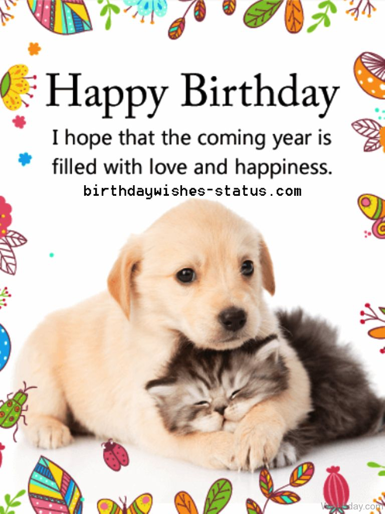 Birthday Wishes For Dogs Happy Birthday Cards Happy