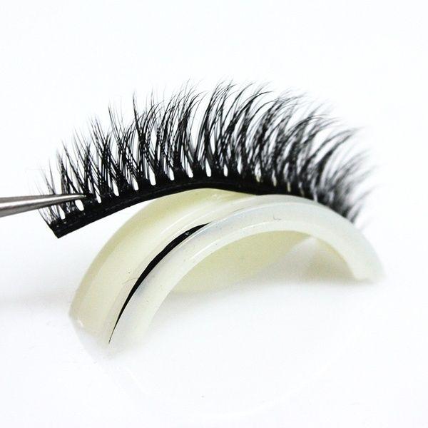 8718bad4dfd Reusable Self-Adhesive Natural Curly Eyelashes Extension 3D Mink False Fake  Eyelash