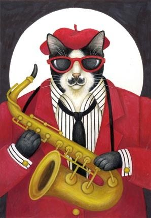Cool Cat  -  Stephanie Stouffer
