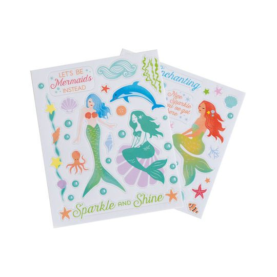 Buy the enchanting clear mermaid flat stickers by recollections at michaels com create