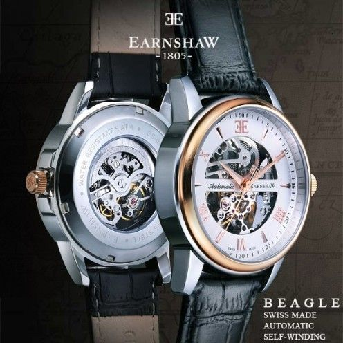 Thomas Earnshaw Beagle Swiss Made Automatics