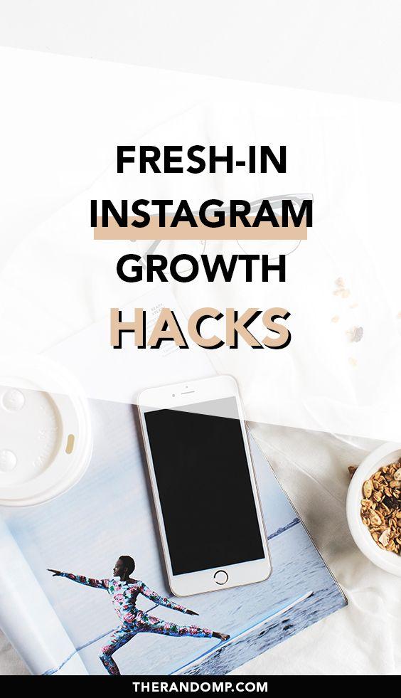 Fresh-in Instagram growth hacks for 2021