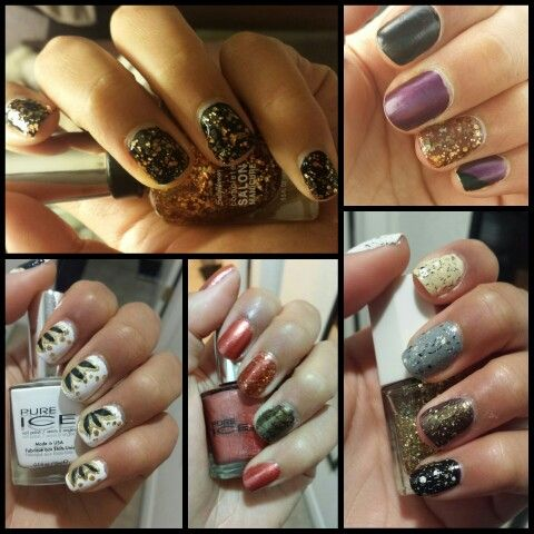 October nail designs - October Nail Designs Fun With Nails Pinterest October Nails