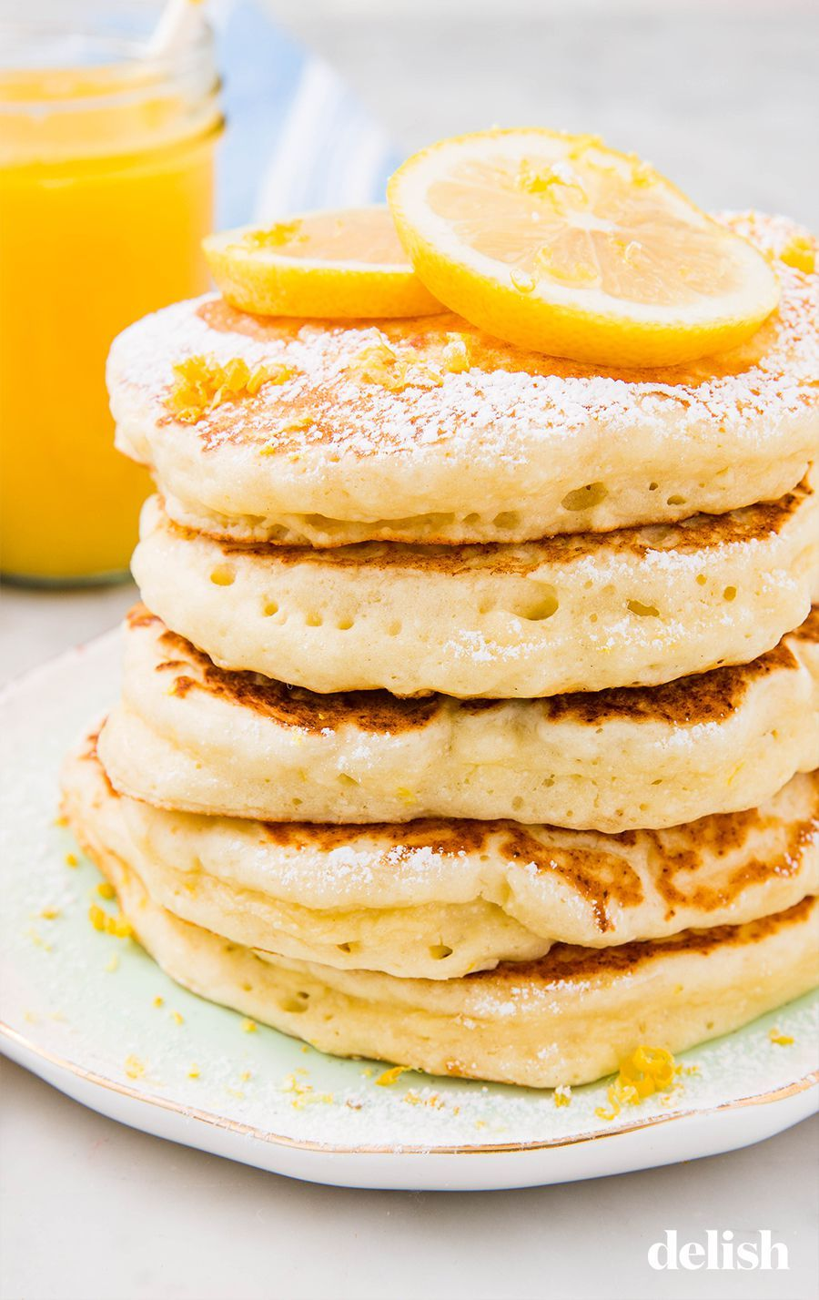 Lemon Ricotta Pancakes Are Ultimate Brunch Goals Recipe Ricotta Pancakes Recipes Ricotta Pancakes Lemon Ricotta Pancakes