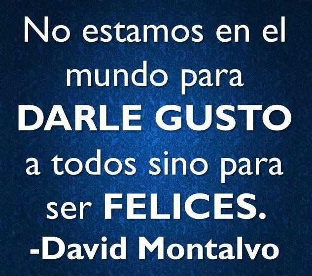 David Montalvo.