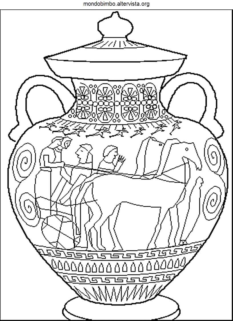 37 Vasi Greci Da Colorare Idei Con Decorazioni Vasi Greci Da Con Disegni Di Vasi E 37 Vasi Greci Da Colorar Decorazioni Vasi Greci Arte Antica Greca Arte Greca