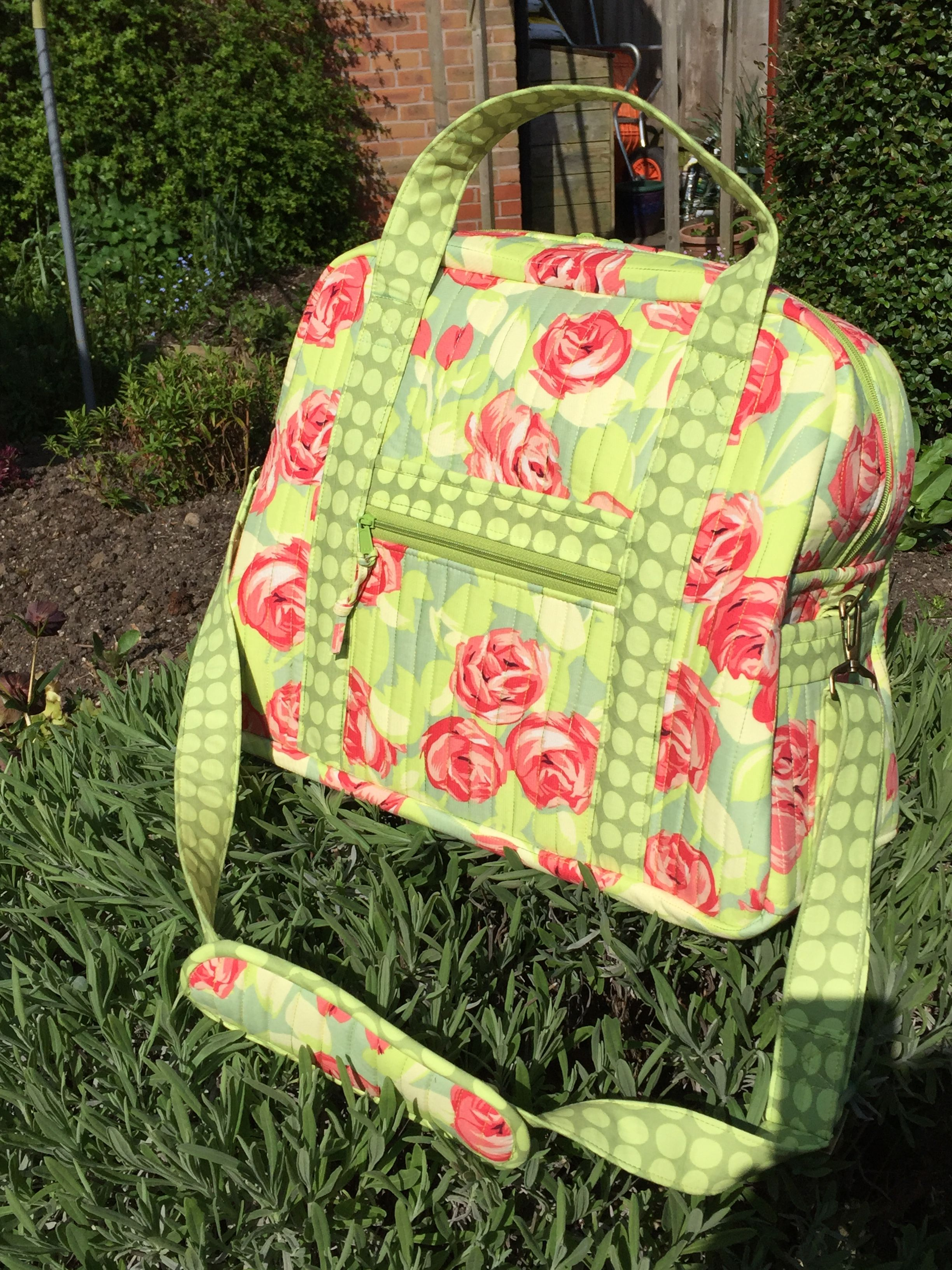 My Version Of The Ultimate Travel Bag Patterns By Annie Trendy