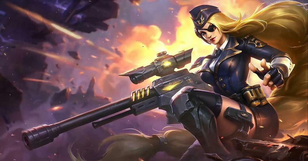 Sniper Ready Give Me A Target Lesley Mobile Legend Mobile Legend Wallpaper Alucard Mobile Legends Mobile Legends