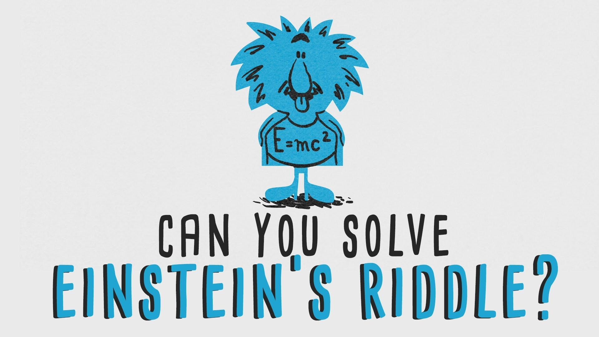 Can You Solve Einstein S Riddle