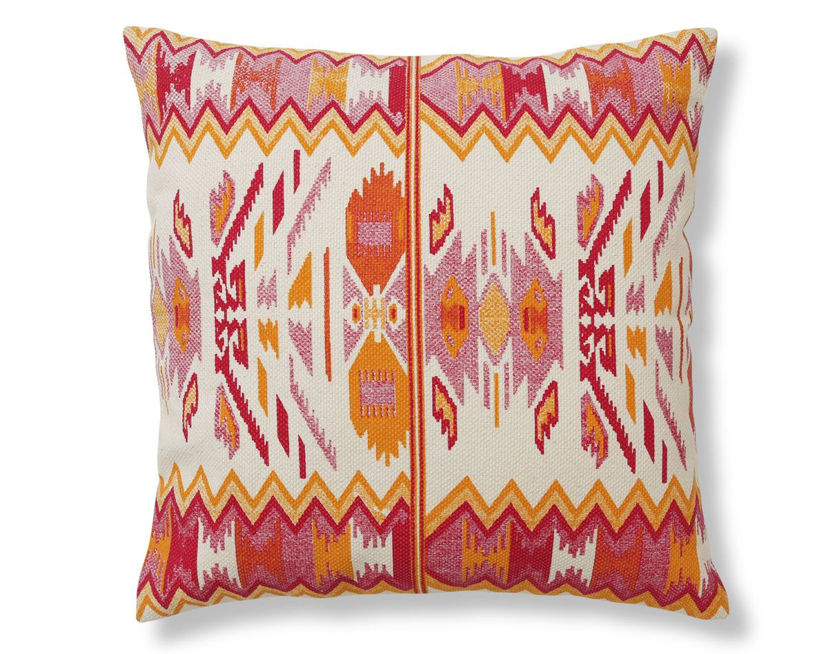 Coussin Motif Ethnique Becquet Throw Pillows Pillows Bed