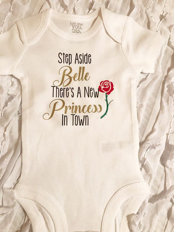 step aside Belle theres a new princess in town onesie