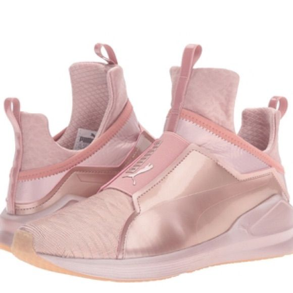 Puma Shoes | Fierce Metallic High Top Sneaker By Puma