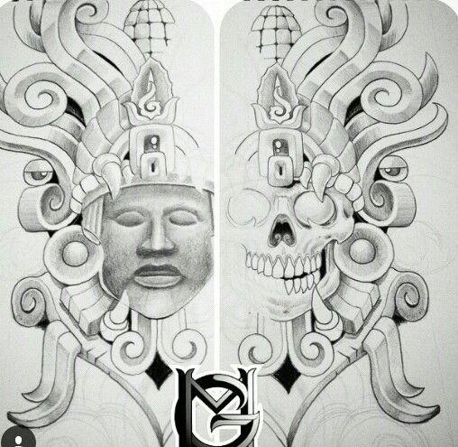 Chicano arte | Art | Pinterest | Azteca, Cultura y Tatuajes