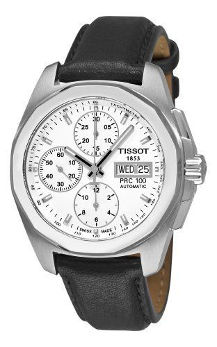 c127b15c0a9 Tissot Men s T0084141603100 PRC 100 White Chronograph Dial Watch Tissot.   746.00. Water-resistant. Relógio SuíçoCronógrafoNascarBaseRelógios ...