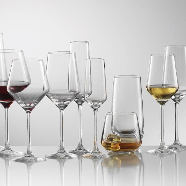Superb Schott Zwiesel Pure Crystal Glassware Virtually Unbreakable!
