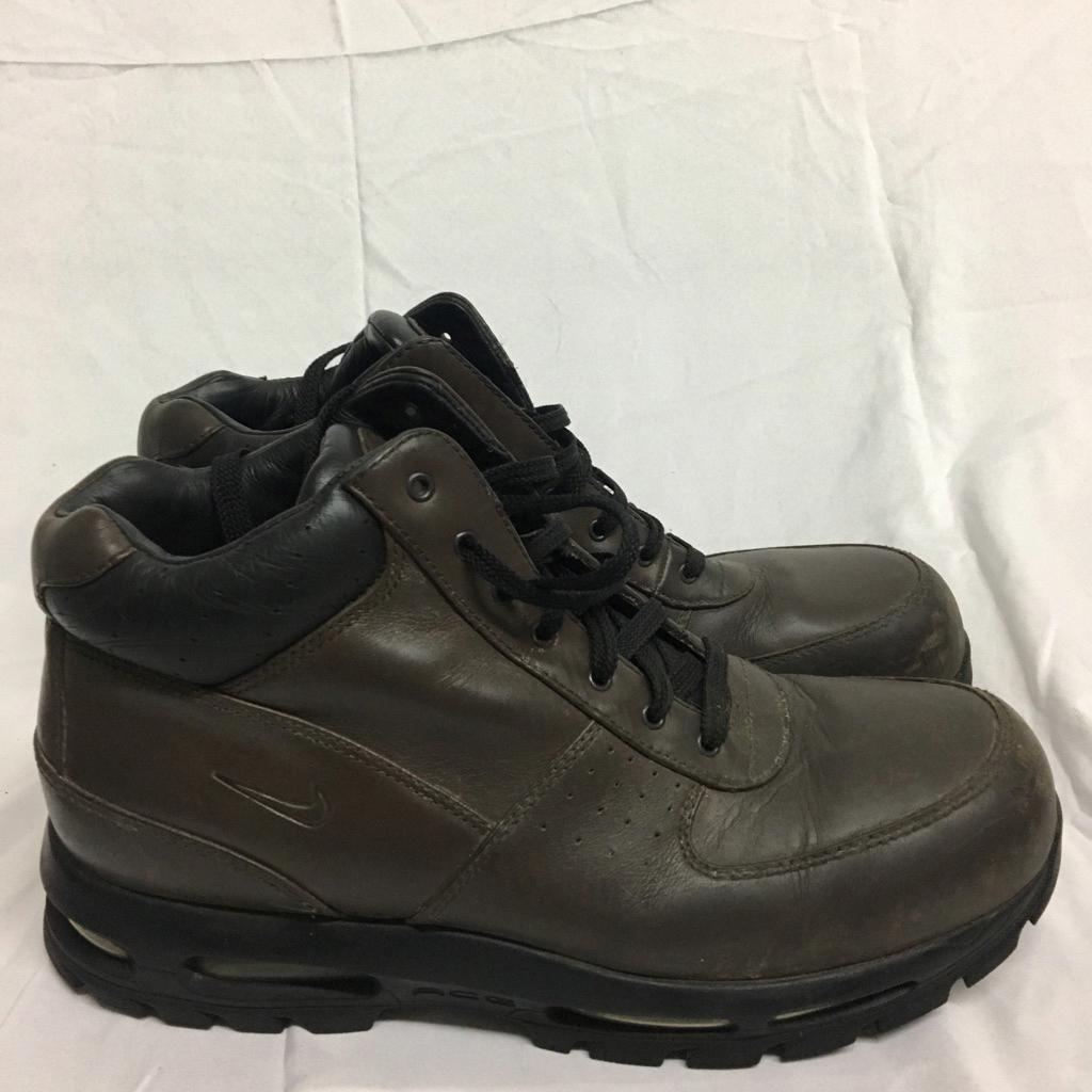 Nike ACG Shoes   Mens Nike Acg Hiking Boots Brown Waterproof ...
