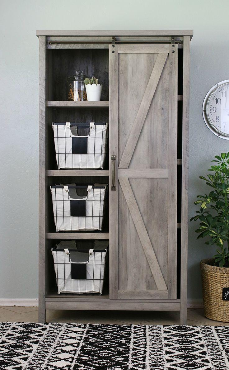 Exceptionnel Modern Farmhouse Storage Cabinet. Via @lollyjaneblog