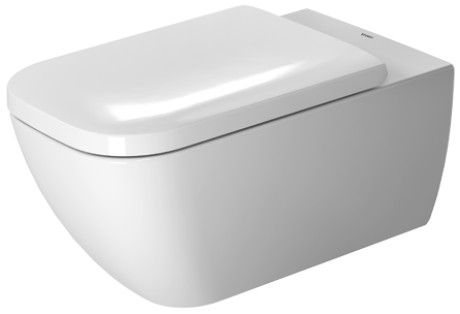 Happy D 2 Toilet Wall Mounted Duravit Rimless 174 255009