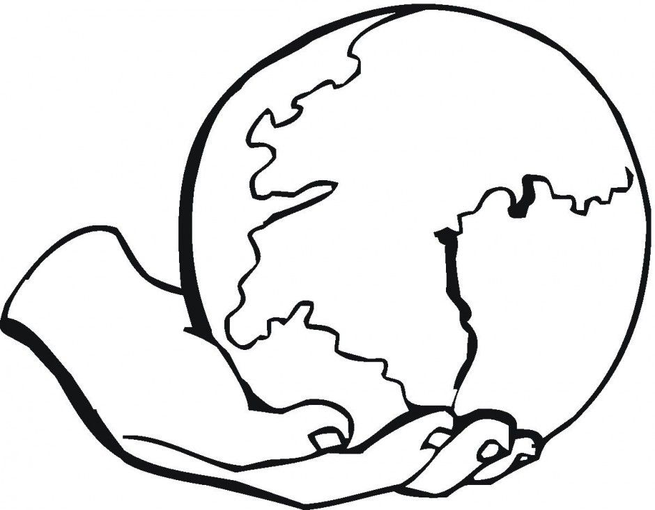 God Created The World Coloring Page Az Coloring Pages Earth Coloring Pages Planet Coloring Pages Sun Coloring Pages