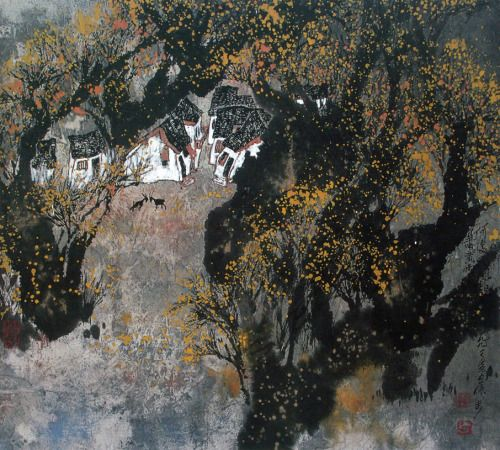 cosmic - The Chinese landscape painter ZHANG BU was born in...