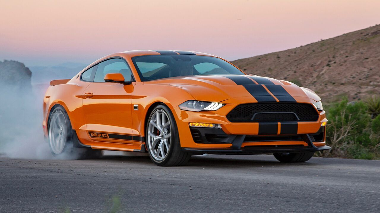 Sixt's Mustang Shelby GTS is the coolest rental car of