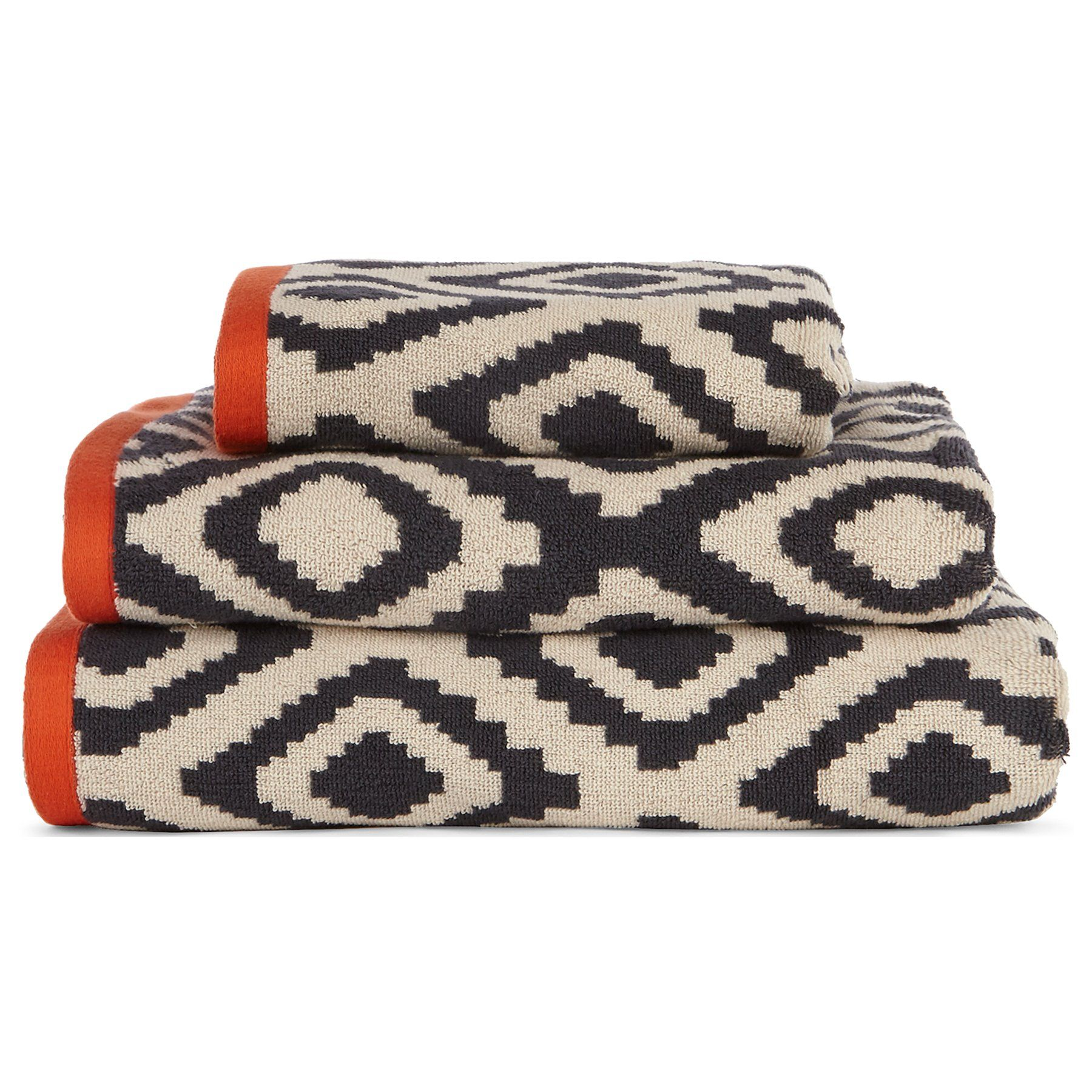 Aztec Cotton Towel Range Towels Bath Mats George At Asda Towel Bath Mats Cotton Towels Cotton Bath Towels