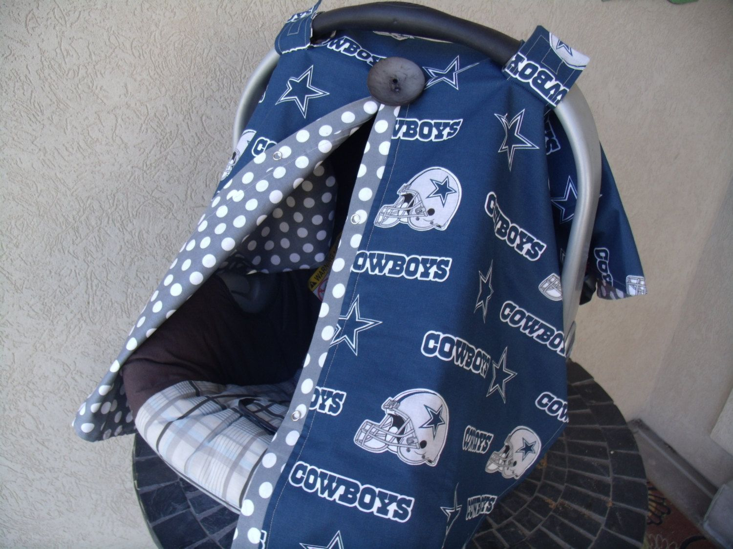 Carseat Canopy Dallas Cowboys Inpsired FREESHIPPING By Fashionfairytales On Etsy