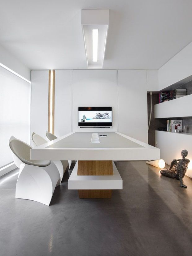 Minimalist office design more office designs www for Modern minimalist office design