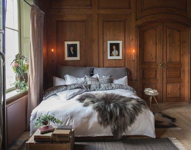 Blogg Home and Cottage: Herskapelig soverom